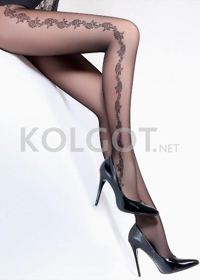 Колготки с рисунком FLORY 40 model 8- купить в Украине в магазине kolgot.net (фото 1)