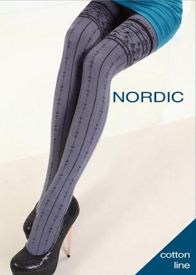 Колготки с рисунком NORDIC 150 model 9 <span style='text-decoration: none; color:#ff0000;'>Распродано</span>- купить в Украине в магазине kolgot.net (фото 1)