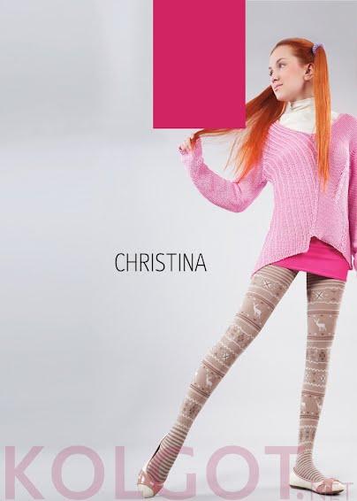 Колготки CHRISTINA 150 model 2 <span style='text-decoration: none; color:#ff0000;'>Распродано</span>- купить в Украине в магазине kolgot.net (фото 1)