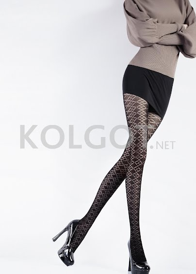 Колготки с рисунком VOGUE 120 model 1- купить в Украине в магазине kolgot.net (фото 1)