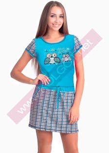 Купить Домашнее платье Kittens 02303ПВ (фото 2)