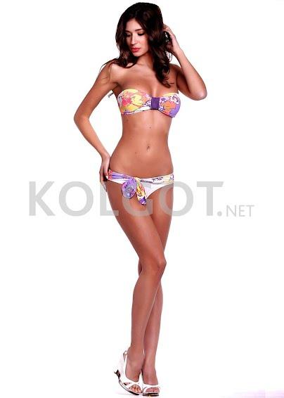 Раздельные купальники Цветочное бандо k4-2- купить в Украине в магазине kolgot.net (фото 1)