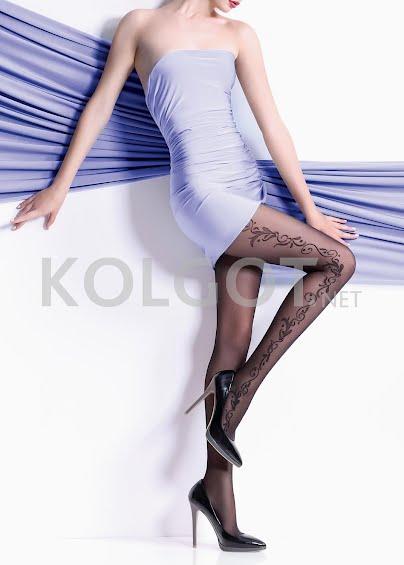Колготки с рисунком FLORY 40 model 10- купить в Украине в магазине kolgot.net (фото 1)