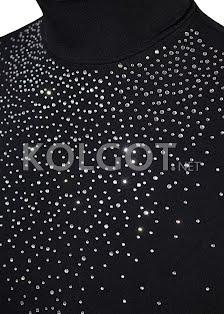 LUPETTO SMANICATO STRASS S-007 nero - купить в интернет-магазине kolgot.net (фото 2)
