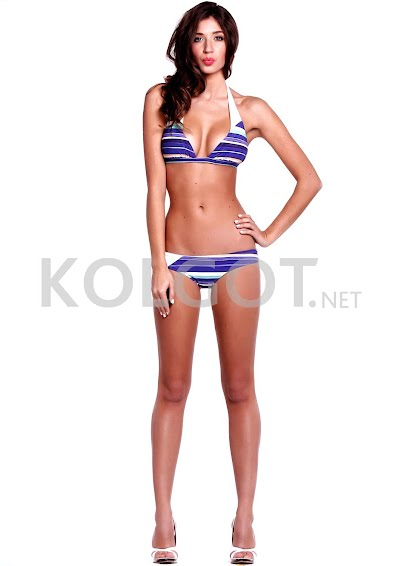 Раздельные купальники Модель в полоску k6-1- купить в Украине в магазине kolgot.net (фото 1)