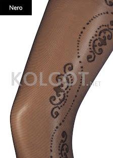 Колготки с рисунком FLORY 40 - купить в Украине в магазине kolgot.net (фото 2)