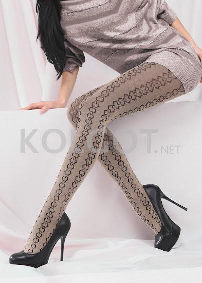 Колготки с рисунком NOVELLA 120 model 6 <span style='text-decoration: none; color:#ff0000;'>Распродано</span>- купить в Украине в магазине kolgot.net (фото 1)