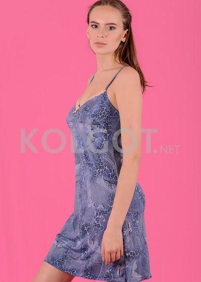 Аксессуары Сорочка  Fa-Na -3201 Принт голубой джинс - купить в Украине в магазине kolgot.net (фото 1)