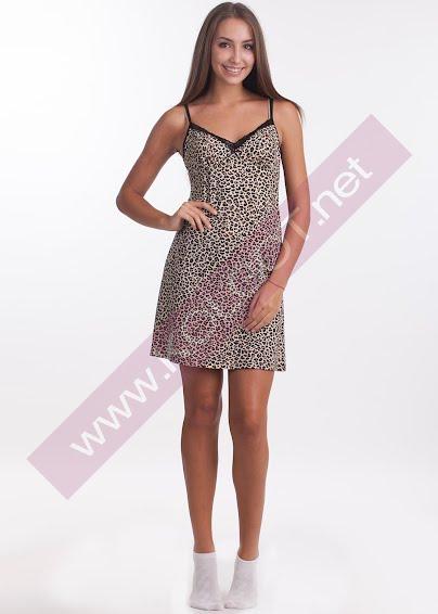 Одежда для дома и отдыха Домашнее платье Tiger Shirt 01601- купить в Украине в магазине kolgot.net (фото 1)
