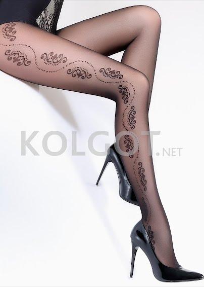 Колготки с рисунком FLORY 40  model 5- купить в Украине в магазине kolgot.net (фото 1)