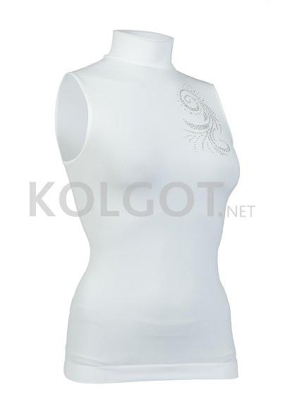 Водолазки LUPETTO SMANICATO STRASS S-005 bianco - купить в Украине в магазине kolgot.net (фото 1)