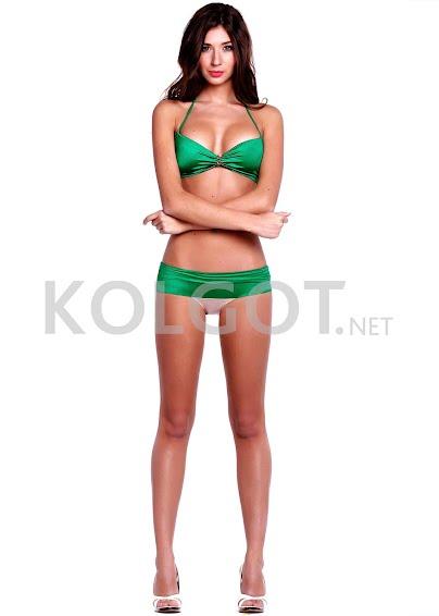 Раздельные купальники Модель изумрудно-зеленая k12- купить в Украине в магазине kolgot.net (фото 1)