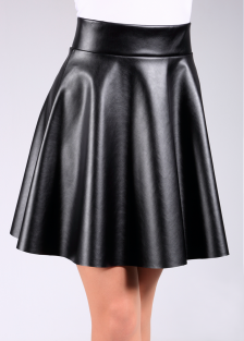 Купить MINI SKIRT LEATHER  model 1 (фото 1)