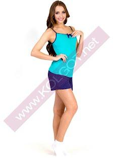 Купить Домашний комплект майка + шорты Bright Color 01311 <span style='color:#ff0000;'>Распродано</span> (фото 2)