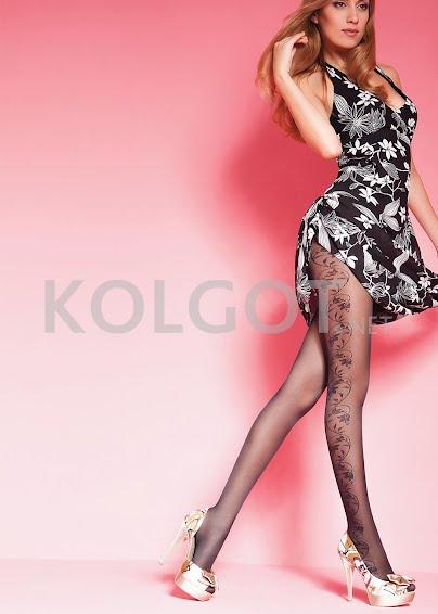 Колготки с рисунком EMILY 40 model 19- купить в Украине в магазине kolgot.net (фото 1)