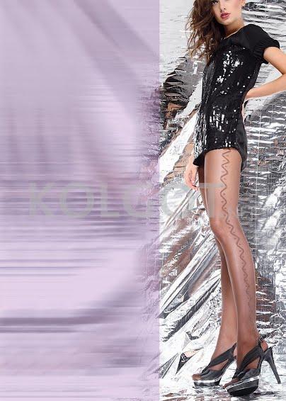 Колготки с рисунком EMILY 40 model 10- купить в Украине в магазине kolgot.net (фото 1)