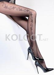 Колготки с рисунком FLORY 40 model 9                    - купить в Украине в магазине kolgot.net (фото 1)