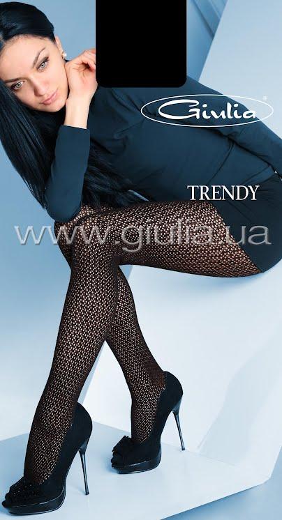 Колготки с рисунком TRENDY 120 model 2 <span style='text-decoration: none; color:#ff0000;'>Распродано</span>- купить в Украине в магазине kolgot.net (фото 1)