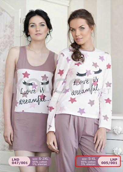 Одежда для дома и отдыха LNP 005-001 - купить в Украине в магазине kolgot.net (фото 1)