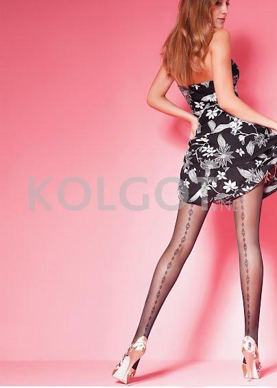 Колготки с рисунком EMILY 40 model 23- купить в Украине в магазине kolgot.net (фото 1)