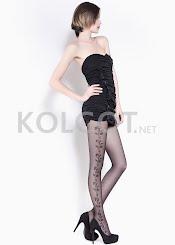 Колготки с рисунком FLORY 40 model 4                    - купить в Украине в магазине kolgot.net (фото 1)