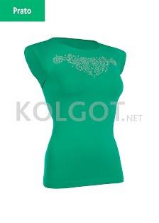 Купить T-shirt SCOLLO TONDO MANICA CORTA STRASS (фото 2)