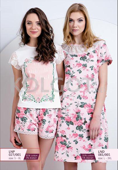 Одежда для дома и отдыха LNP 027-001 (S-XL) - купить в Украине в магазине kolgot.net (фото 1)