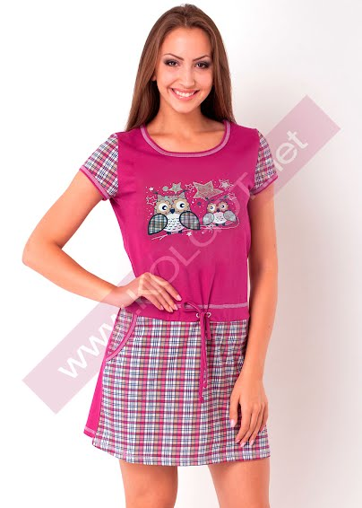 Одежда для дома и отдыха Домашнее платье Kittens 02303ПВ- купить в Украине в магазине kolgot.net (фото 1)