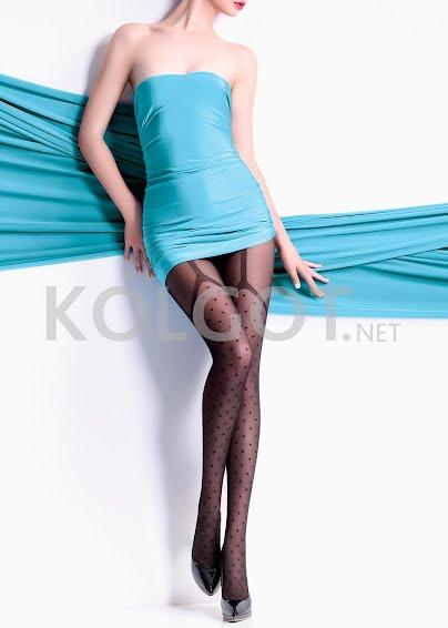 Колготки с рисунком COLLETE 40  model 1- купить в Украине в магазине kolgot.net (фото 1)
