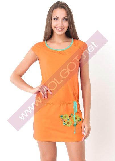 Одежда для дома и отдыха Домашнее платье Daisies 01026П- купить в Украине в магазине kolgot.net (фото 1)