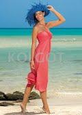 Пляжное платье SUKIENKA F43  (фото 3)