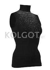 Водолазки LUPETTO SMANICATO STRASS S-007 nero                     - купить в Украине в магазине kolgot.net (фото 1)