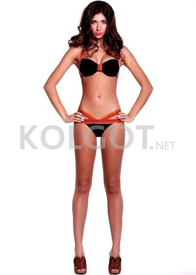Раздельные купальники Черный бандо k1- купить в Украине в магазине kolgot.net (фото 1)