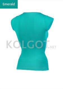 T-SHIRT SCOLLO V MANICA CORTA - купить в интернет-магазине kolgot.net (фото 2)