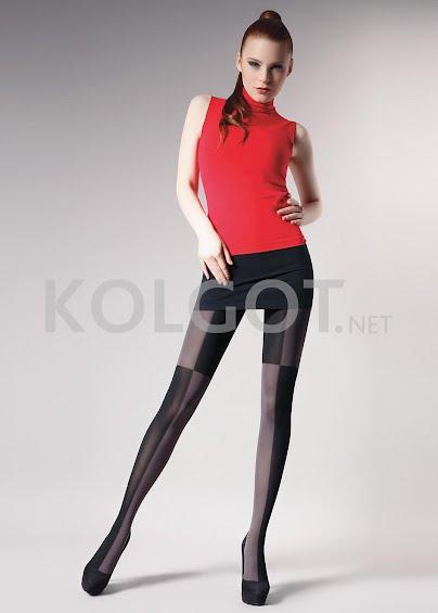 Колготки с рисунком Cross 60 model 2- купить в Украине в магазине kolgot.net (фото 1)