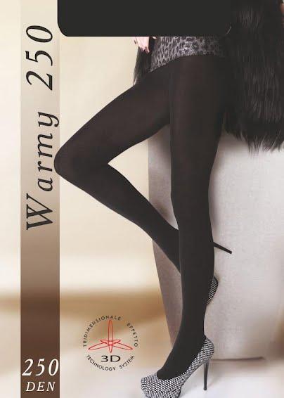 Теплые колготки WARMY 250 <span style='text-decoration: none; color:#ff0000;'>Распродано</span>- купить в Украине в магазине kolgot.net (фото 1)