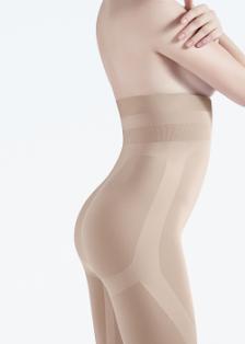 Корректирующее белье,           GUAINA ALZA GLUTEI MODELLANTE          Высокие моделирующие шорты без боковых швов ТМ GIULIA - купить в Киеве/Украине в магазине kolgot.net (фото 1)