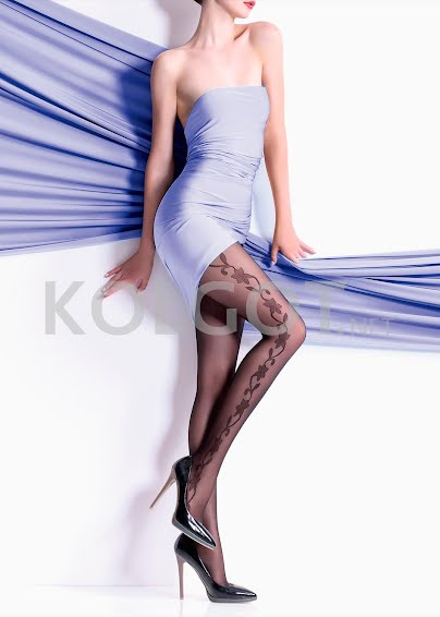 Колготки с рисунком FLORY 40 model 14- купить в Украине в магазине kolgot.net (фото 1)