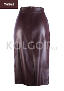 Купить PENCIL SKIRT LEATHER 01 model 1 (фото 2)