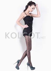 Колготки с рисунком FLORY 40 model 1                    - купить в Украине в магазине kolgot.net (фото 1)