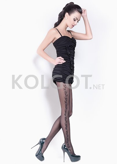 Колготки с рисунком FLORY 40 model 1- купить в Украине в магазине kolgot.net (фото 1)