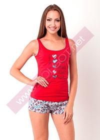 Купить Домашний комплект майка + шорты Words 02107П (фото 1)