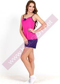 Купить Домашний комплект майка + шорты Bright Color 01311 <span style='color:#ff0000;'>Распродано</span> (фото 1)