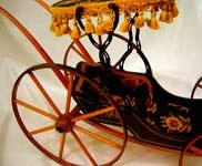 Vintage Miniature Doll stroller