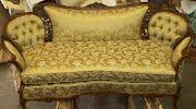 Antique Gold Sofa