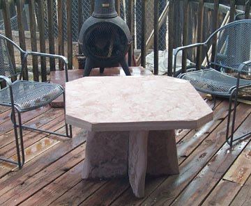 Simple Subpages Metal in stone coffee table Stone tables with design