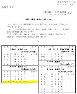 Shinsa Results