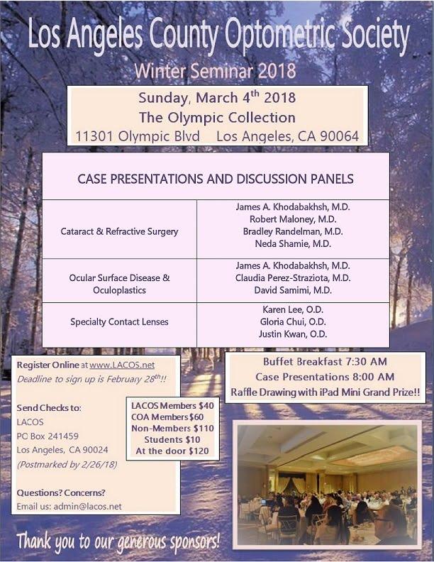 CE Winter Seminar 2018