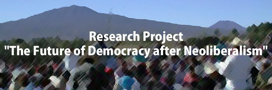 "Research Project ""The Future of Democracy after Neoliberalism"""