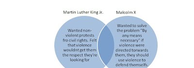 relationship between martin luther king and malcolm
